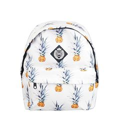 38ce36d846 Pineapple print backpacks are the coolest Jansport backpacks you can take  to school. Whether you're a middle school/ high school or c.