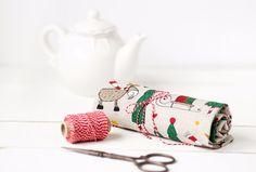 Christmas Home Decor – Christmas towels set 2  – a unique product by linenhomeshop on DaWanda