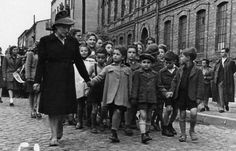 A group of children who survived the Holocaust in Czestochowa. Photo courtesy of Holocaust Education & Archive Research Team.