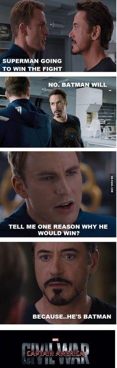 how Captain America: Civil War started...because of Batman vs. Superman: Dawn of Justice
