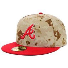 MLB Atlanta Braves 2014 Memorial Day 59Fifty Cap:Amazon:Sports  Outdoors