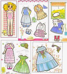 Figurettes - Zespół Aspergera, lalki, miniaturki i zapiski Samotnej Mamy: Paper Dolls - Papierowe Lalki, nie tylko do zabawy :)
