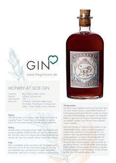 Monkey 47 Sloe Gin / Gin Review