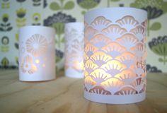 Tuto minilabo : lampions en papier découpé                                                                                                                                                     Plus