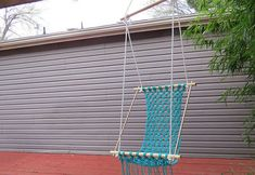Everyone loves to sit around the yard during the summer and relax. So we found this easy DIY guide for building your own hanging chair