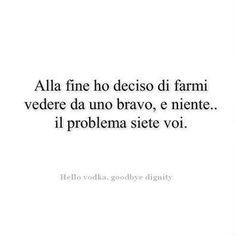 Il problema siete voi!!!