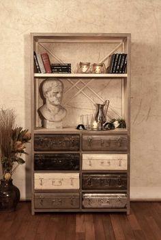 Charleston hylle / skap i jern (193x105) - Sinclair Miljø AS