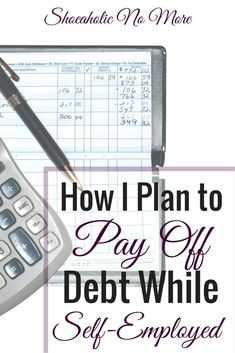 Since becoming self-employed, a lot of things have changed! One thing that hasn't? My debt repayment. Here's how I plan to pay off my debt while being self-employed Pay off Debt, Student Loan Debt Debt Repayment, Debt Payoff, Money Tips, Money Saving Tips, Tax Debt Relief, Managing Your Money, Frugal Tips, Student Loans, Money Management