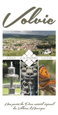 Volvic, couverture du dépliant touristique 2014