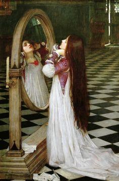 (Mariana in the South). 1897-JOHN WILLIAM WATERHOUSE