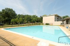 Another shot of the pool at Cheverly Station, Landover, Maryland