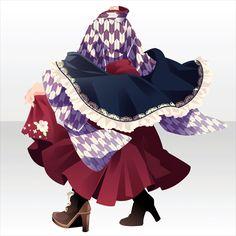 Anime Outfits, Girl Outfits, Cute Outfits, Fashion Line, Fashion Art, Chibi, Character Inspiration, Character Design, Yukata Kimono