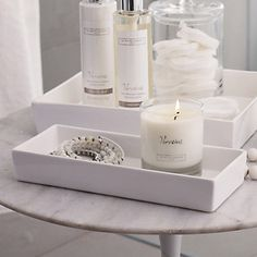 Ceramic Rectangular Container – White The White Company wwwdeal-shopcom… The post Ceramic Rectangular Container – White The White … appeared first on Best Pins for Yours - Bathroom Decoration