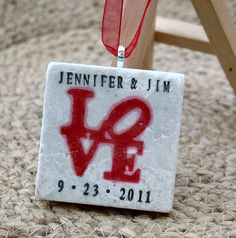Love Ornament Wedding Favors Set of 25 by MyLittleChick on Etsy, $71.25