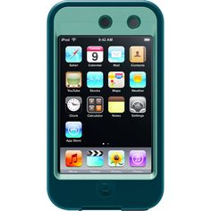 OtterBox Defender iPod 4 Case | Otterbox Defender Case for Apple iPod Touch 4 - Reflection Turquoise