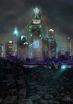 "scifiseries: ""Looking at the city lights """