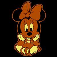 Disney Babies Minnie - Shaded Pumpkin Pattern