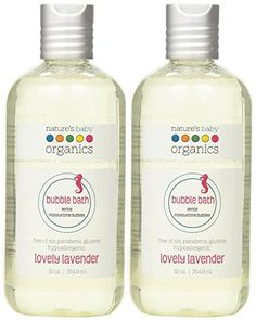 Natures Baby Organics Bubble Bath Lovely Lavender Bottles Pack of 2 -- Learn more by visiting the image link. Baby Skin Care, Baby Care, Body Shampoo, Natural Baby, Bubble Bath, Organic Baby, Health And Beauty, Lavender, Bubbles