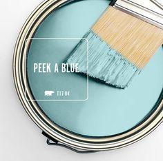Home Decor Bathroom Kitchen Color Peek A Blue - Behr paint.Home Decor Bathroom Kitchen Color Peek A Blue - Behr paint Behr Colors, Wall Colors, House Colors, Interior Paint Colors, Paint Colors For Home, Paint Colours, Lowes Paint Colors, Soothing Paint Colors, Paint Color Schemes
