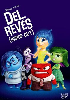 Del revés (Inside out) (2015) Estados Unidos. Dir.: Peter Docter e Ronnie Del Carmen - DVD ANIM 165