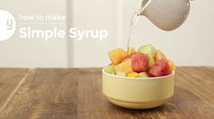 How to Make Simple Syrup | Yummy Ph