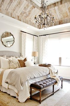 Use Light and White Together Bedroom Design Picture