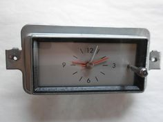 1966 Lincoln Clock - Part Number C6VF-15000 - Serviced and Working with a 30 Day Guarantee + FREE Shipping!!! - $89.88