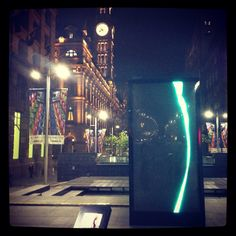 Mesmerizing For Tomorrow digital installation #martinplace