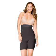 Assets by Sara Blakely a Spanx Brand Women's Supreme Slimmers High Waist Mid-Thigh 2541