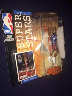 CORINTHIAN HEADLINERS NBA 1996 JOHN STOCKTON Violet Jersey #33
