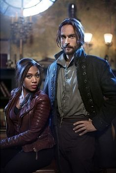 Sleepy Hollow <<<<<< DID ANYONE ELSE THINK THIS WAS MARTHA AND SHAKESPEARE??