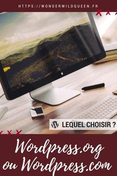 Wordpress.org ou WordPress.com ? Lequel choisir pour son blog ? #wordpress #blogging #conseils #cms