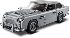The has made more appearances in Bond movies than any other vehicle, so it only makes sense for it to be chosen as first brick-built ride. The Lego James Bond Aston Martin is modeled after the one. Aston Martin Db5, Classic Aston Martin, Sean Connery, Lego Creator, Photo Lego, James Bond Goldfinger, Engine Detailing, Auto Detailing, Lego Building Sets
