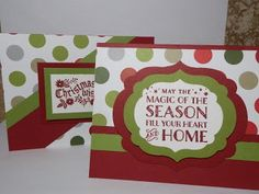 Cozy Christmas by Stampin Up. Enjoy and visit me at http://thescrappingqueen.blogspot.com/2015/10/the-wonder-of-one-sheet-wonder-cards.html