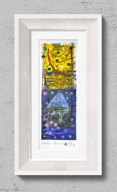 "Saatchi Art Artist Tezcan Bahar; Printmaking, ""Clown Series - 9 - Limited Edition 1 of 1"" #art"