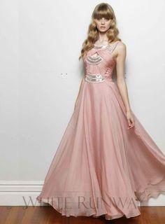 Pink embellished bridesmaid dresses #prom #debutante
