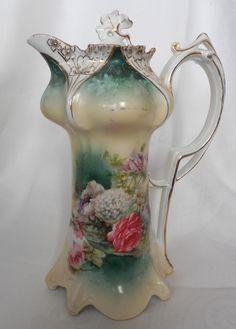 Tillie's Antique Chatter: Victorian Chocolate Pots