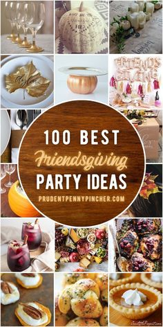 Enjoy a casual Thanksgiving with your friends with these Friendsgiving ideas. From budget-friendly Friendsgiving decorations and easy Friendsgiving food ideas that are perfect for a small group to fun Friendsgiving games to keep the party going, there are plenty of ideas to choose from. Fun Thanksgiving Games, Easy Thanksgiving Recipes, Thanksgiving Decorations, Happy Thanksgiving, Christmas Recipes, Seasonal Decor, Diy Christmas, Holiday Recipes, Christmas Ornaments