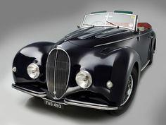 1946 Delahaye 135 Cabriolet by Graber Retro Cars, Vintage Cars, American Classic Cars, Mini Trucks, Car Storage, Car Pictures, Car Pics, Car Car, Old Cars
