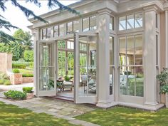 Orangery Ideas. #Sunroom #Orangery Vale Garden Houses More
