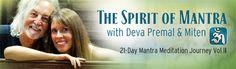 21-Day Mantra Meditation Journey II - Home