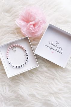 Lieblingsmensch Armband – Famous Last Words Birthday Presents For Girlfriend, Presents For Best Friends, Christmas Gifts For Girlfriend, Best Friend Gifts, Gifts For Mom, Diy Birthday, Birthday Cards, Birthday Gifts, Personalized Christmas Gifts