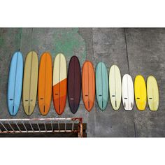 almondsurfboards: Summer colors for Soeda Surfboards Japan #almondsurfboards (at Almond Surfboards)