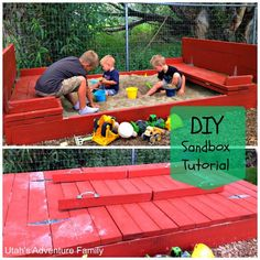 Helping Kids Grow Up: How To Build Your Own Sandbox