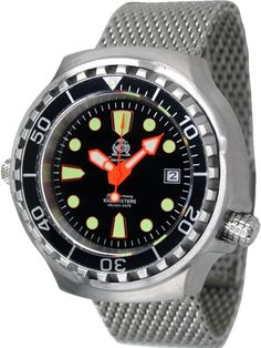 fcb944adadf Tauchmeister T0079MIL Automatic 1000m Dive Watch Montre Plongee