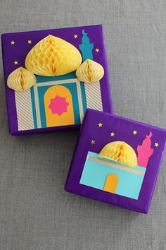 mosque gift wrapping idea by Hello Holy Days! for Martha Stewart.