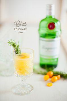 citrus rosemary gin | ruffled