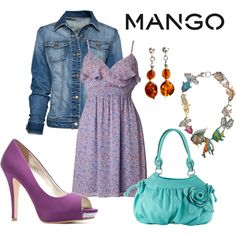 Fashion in Motion with MANGO & Kate Moss, created by emilycolemcgary on Polyvore