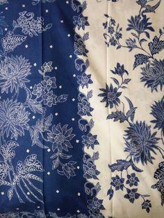 White blue sarong.