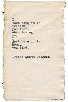 "tylerknott: ""Typewriter Series by Tyler Knott Gregson "" Poem Quotes, Words Quotes, Life Quotes, Sayings, Crush Quotes, Tattoo Quotes, The Words, Pretty Words, Beautiful Words"
